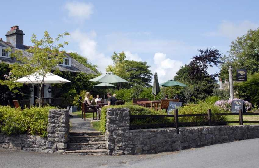 The Stackpole Inn serves award winning food using the best of local ingredients