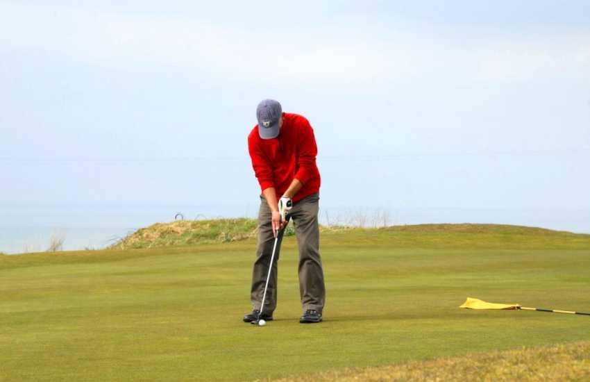 Cardigan, Penrhos, Aberystwyth and Borth all have fantastic golf courses