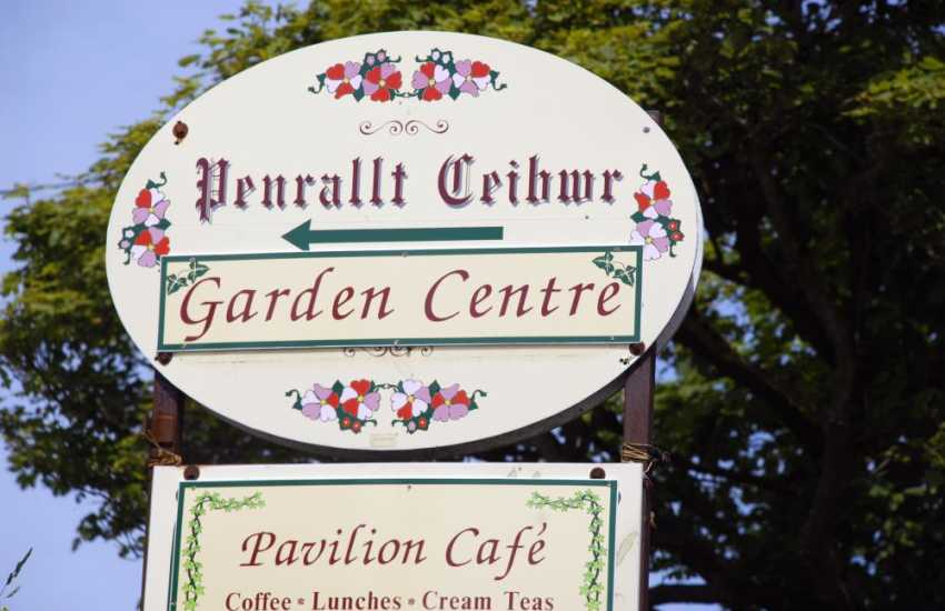 The Penrallt Garden Centre cafe just outside Moylegrove serves mouth watering cream teas and freshly prepared meals