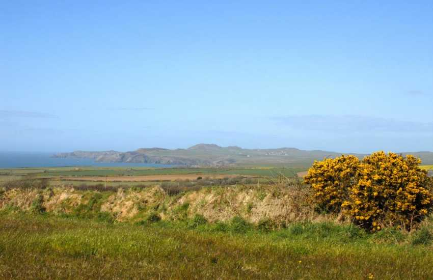 Stunning views from Temple Barn to Strumble Head on the North Pembrokeshire Coast