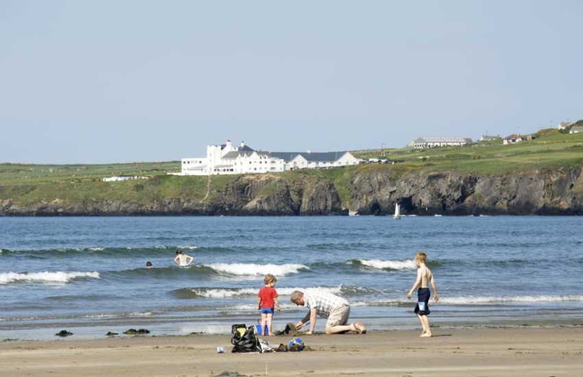 The Cliff Hotel & Spa, Gwbert is in a breathtaking location overlooking the Teifi Estuary and Poppit Sands