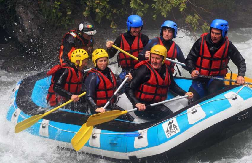 Paddlers Outdoor Activity Centre in Llandysul has a wide range of activities - white water rafting, coasteering, canoeing, kayaking, gorge walking and more!