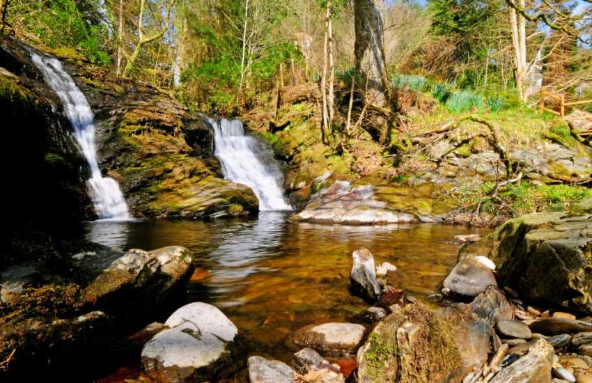 Hafod Estate, wonderful woodland footpaths and streams to picnic alongside
