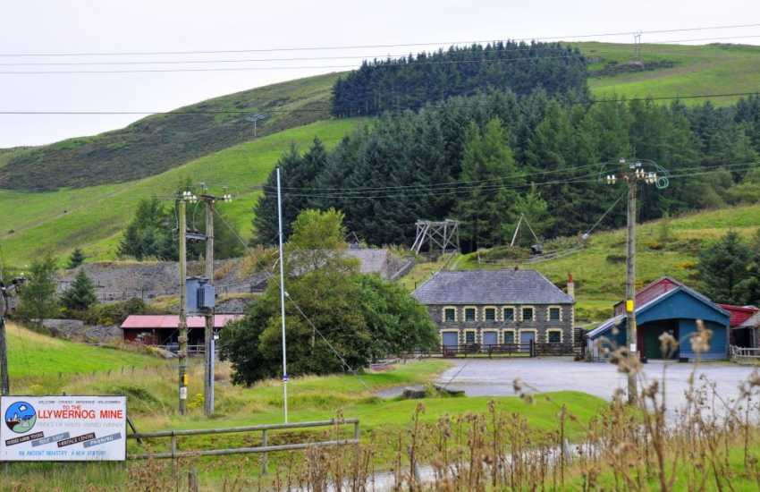 Silver Mountain Experience, an award winning attraction, this silver-lead mine was saved from dereliction and opened within a 7 acre Discovery Park in the Heart of the beautiful Cambrian Mountains
