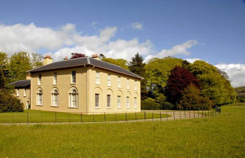 Llanerchaeon (N.T.) near Aberaeron is an 18th C Welsh gentry estate set in the heart of the beautiful Aeron Valley