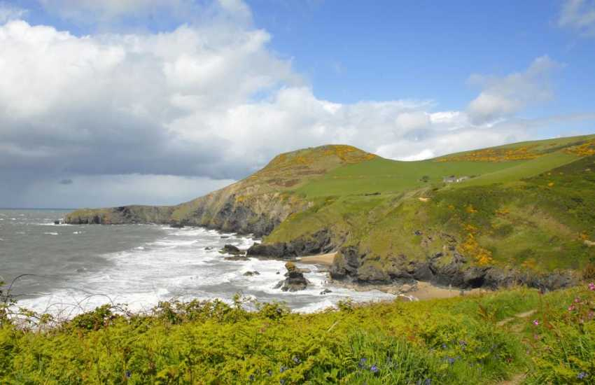 Fabulous cliff top walking and breathtaking scenery along The Cardigan Coast Path