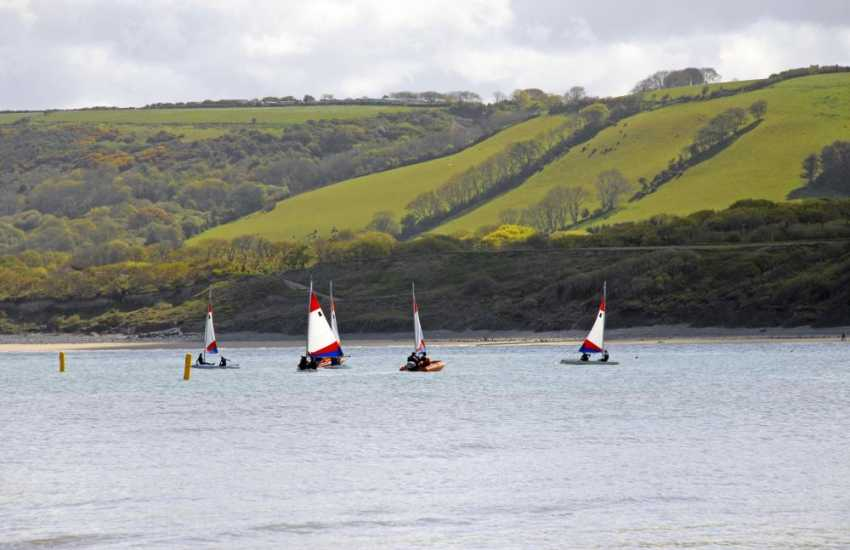 Cardigan Bay Water Sports in nearby New Quay offer a wide range of activities to choose from - sailing, kayaking, windsurfing and power boating