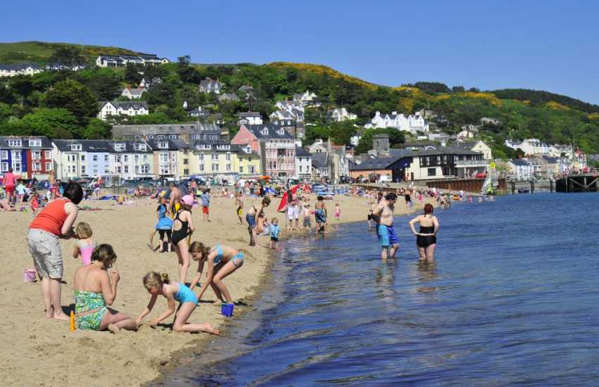 The seaside town of Aberdovey