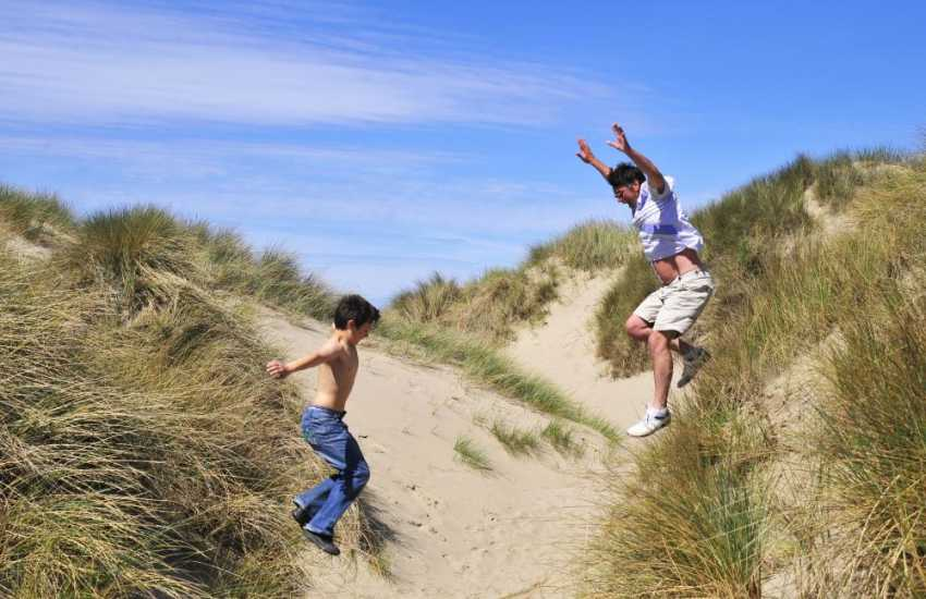 North Wales beaches, fun for all the family
