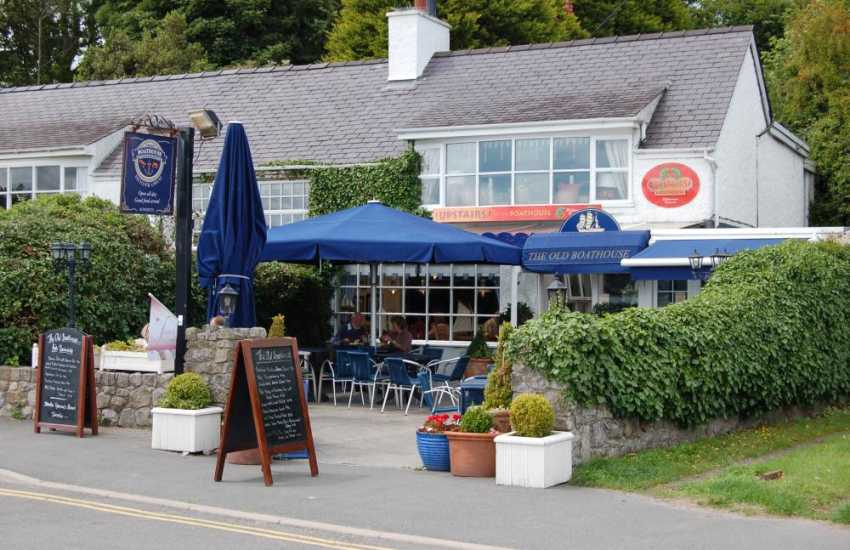 Tasty food at The Old Boathouse at Red Wharf Bay