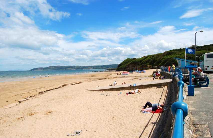 Benllech has an excellent beach and both the Slipway Cafe and Sea View Restaurant serve fine food