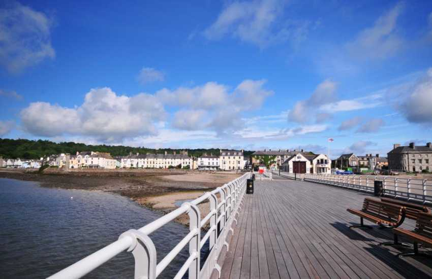 Beaumaris boat trips, take a ride from the pier, either on the fast rib-boat or a slower ride out to Puffin Island