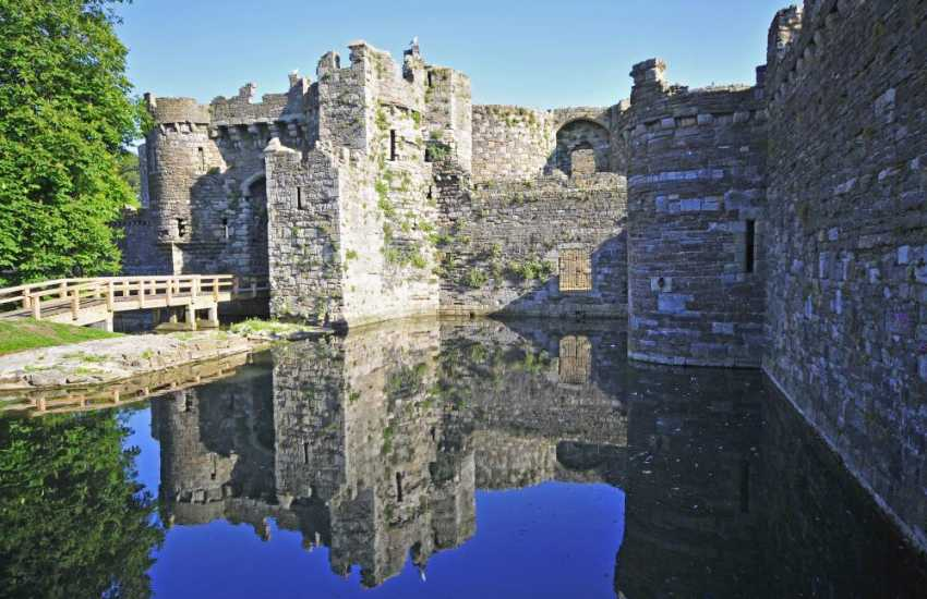 The fairytale Beaumaris Castle.