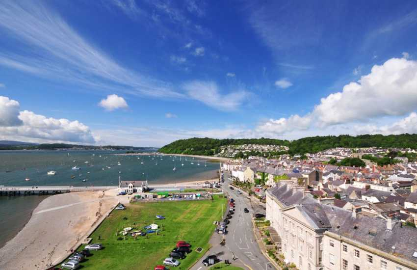Anglesey's premier coastal town Beaumaris