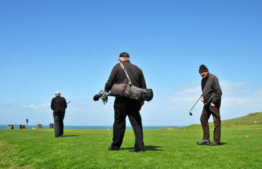 Golf in Anglesey, take your pick of 9 great golf courses in Anglesey