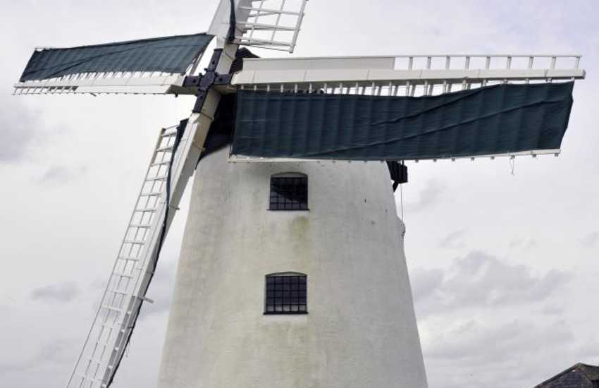 Llynnon Mill, Llanddeusant is the only working windmill in Wales