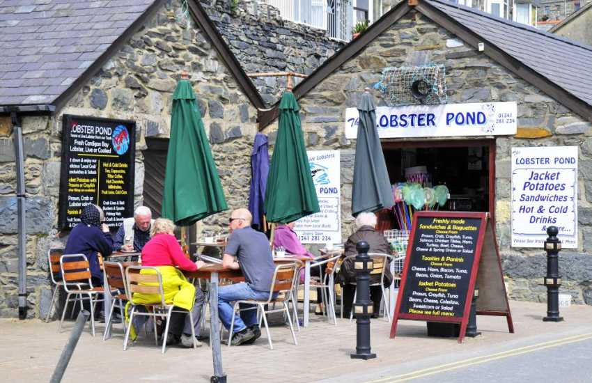 Plenty of restaurants to choose from in Barmouth