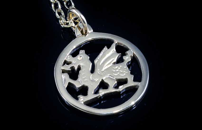 Traditional Welsh jewellery in The Welsh Gold Centre at Tregaron