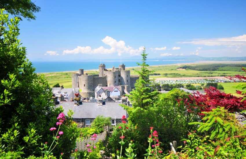 Harlech's fairytale Castle