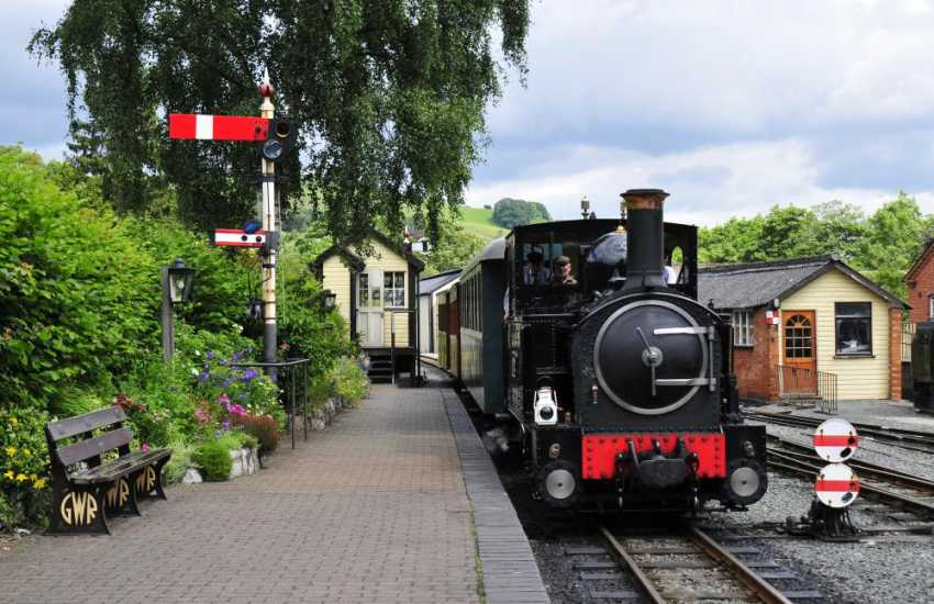 Llanfair Caereinion Light Railway. A great day out for all the family