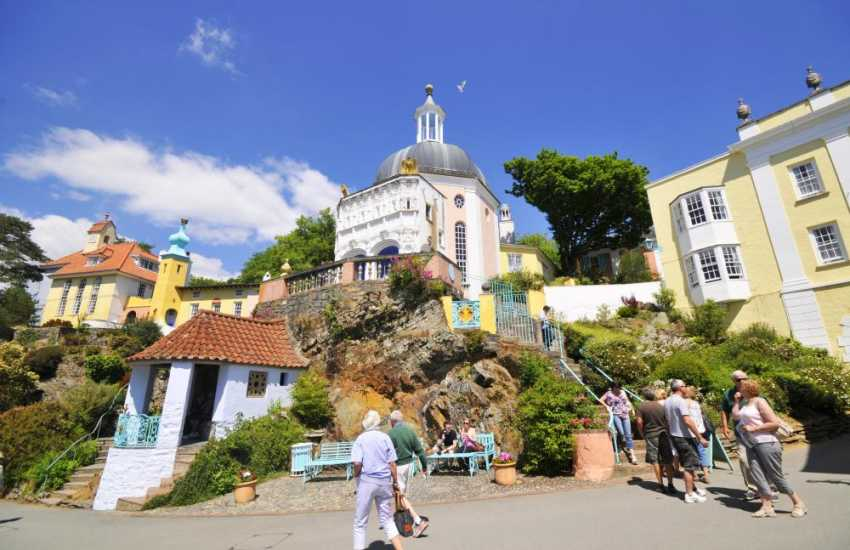 Portmeirion Italianate village is well worth a visit