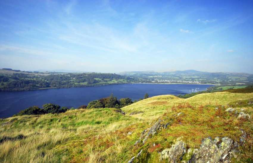 Bala lake a great location for fishing and all types of watersports