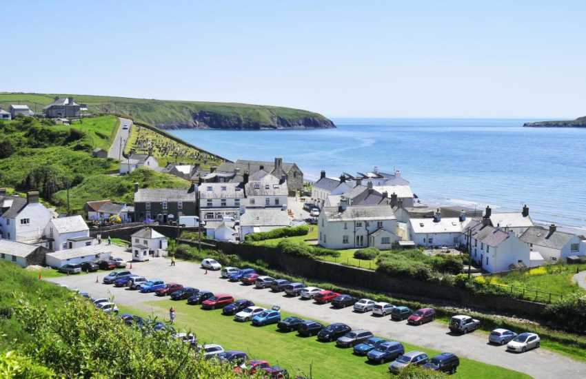 Aberdaron village at the tip of the Lleyn Peninsula