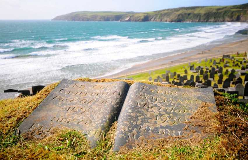 Aberdaron village at the tip of the Lleyn Peninsula, take a scenic drive from Nefyn up the coast road, stopping off at some of the hidden beaches off the beaten track en route