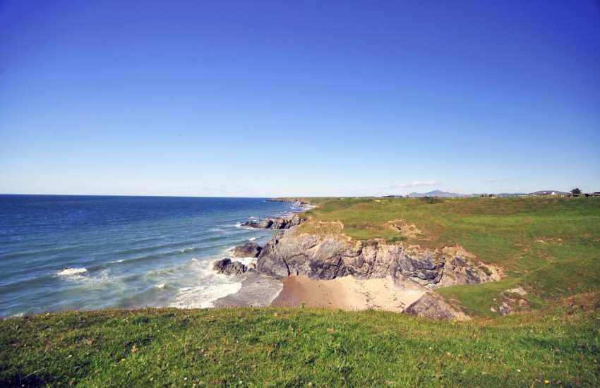 Llyn Peninsula coastal path between Morfa Nefyn and Porth Towyn