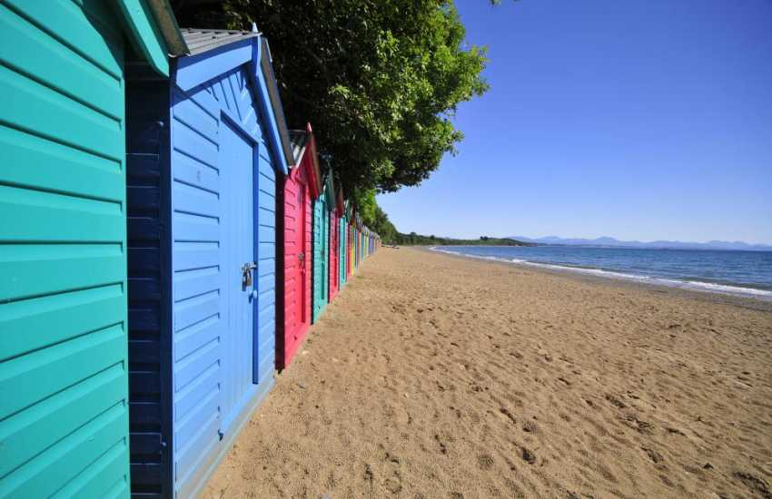 Llanbedrog Sands - one of the extensive sandy beaches which skirt the shores of the Lleyn Peninsula