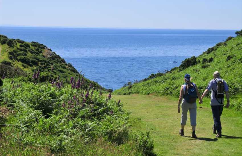 Enjoy glorious coastal walks on the Lleyn Peninsula