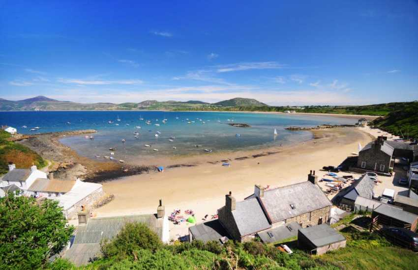 The National Trust village of Porthdinllaen