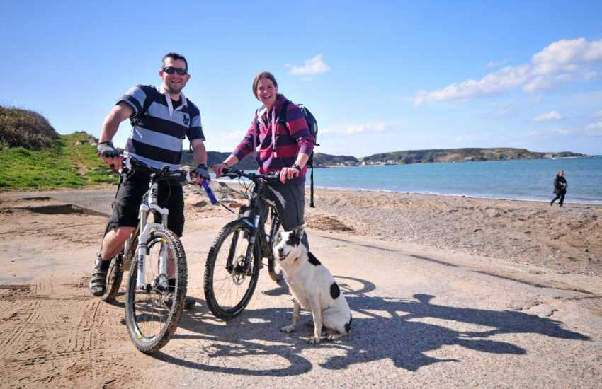 Cycling on the Lleyn Peninsula