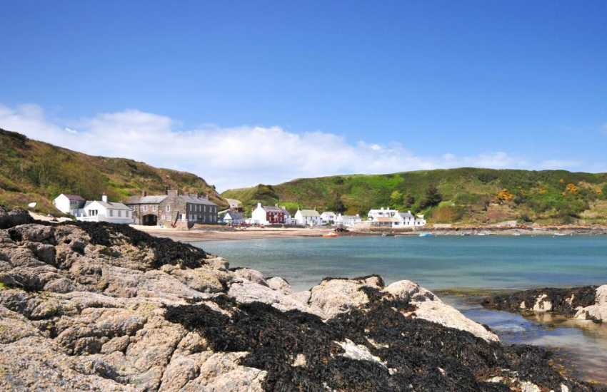 Porthdinllaen, the picturesque National Trust village.