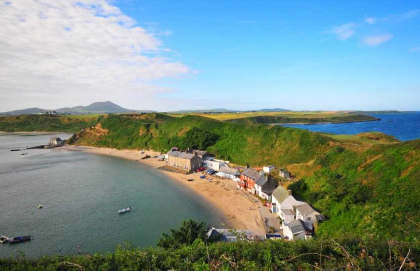 The National Trust headland of Porthdinllaen - picture perfect