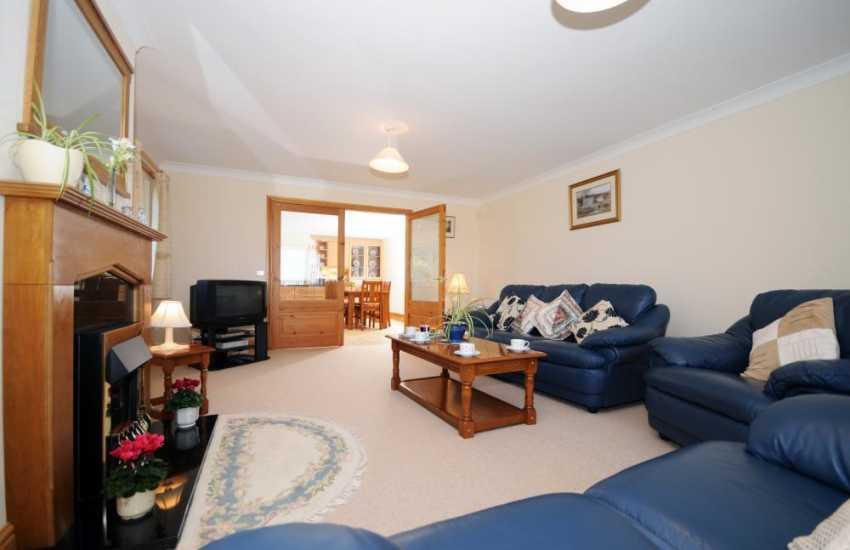 Rural holiday house Lleyn Peninsula - lounge