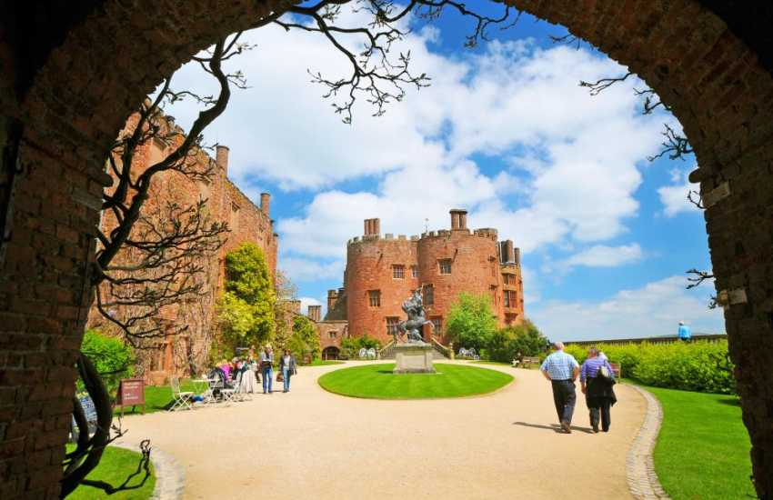 Take a stroll in th fabulous grounds and gardens of Powis Castle (National Trust)