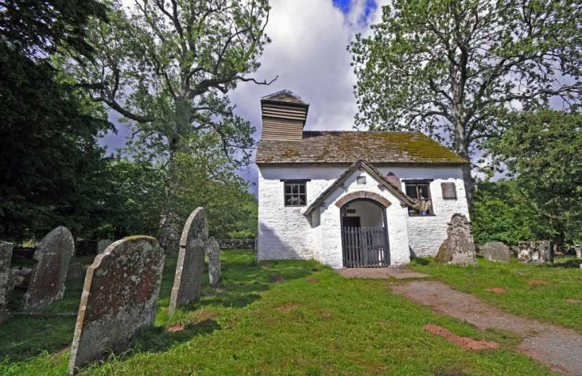St Marys' Chapel is one of the smallest in Wales
