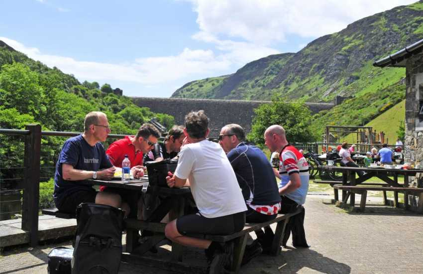 Mid Wales cycling at Elan Valley, Abergwesyn and Llyn Brianne