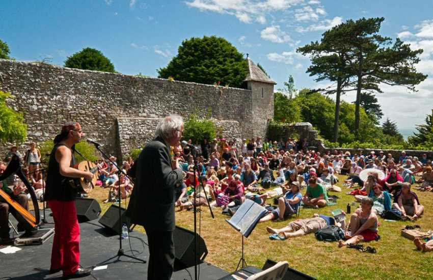 St Donats Arts Centre offers a packed program of events to choose from throughout the year including Beyond The Border- a  3 day festival of storytelling.