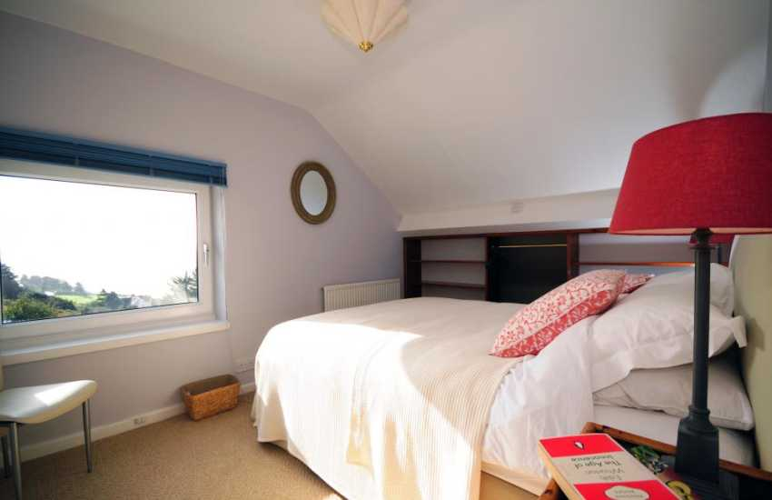 Coastal cottage North Wales - double bedroom