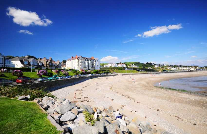 The seaside town of Criccieth, 'The pearl of Wales'
