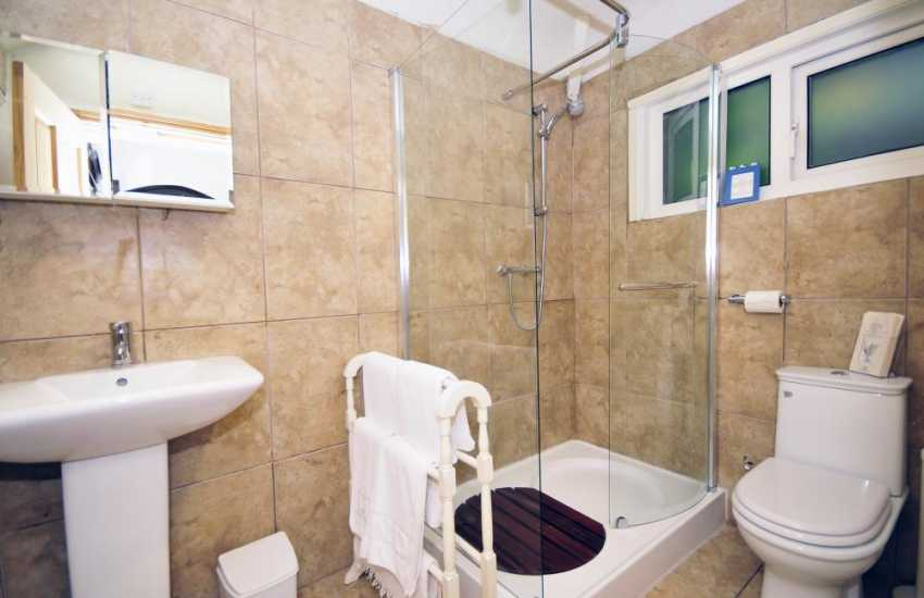 Bathroom in separate appartment at Hafod Wen
