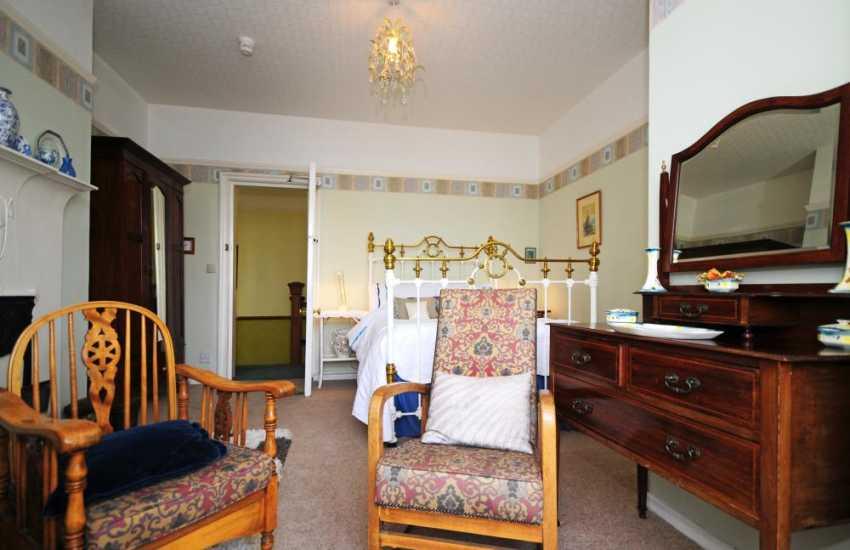 Bedroom at holiday home Harlech
