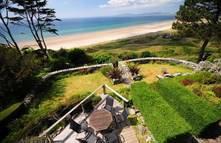 Sea views from North Wales holiday cottage