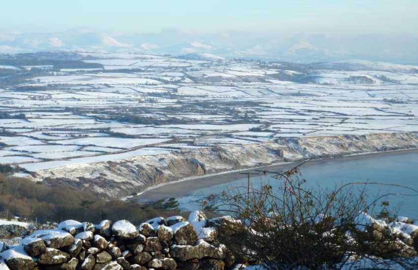 Hells Mouth from Awelon in the winter