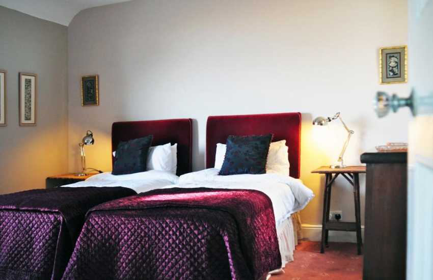 Cottage in Harlech twin bedroom