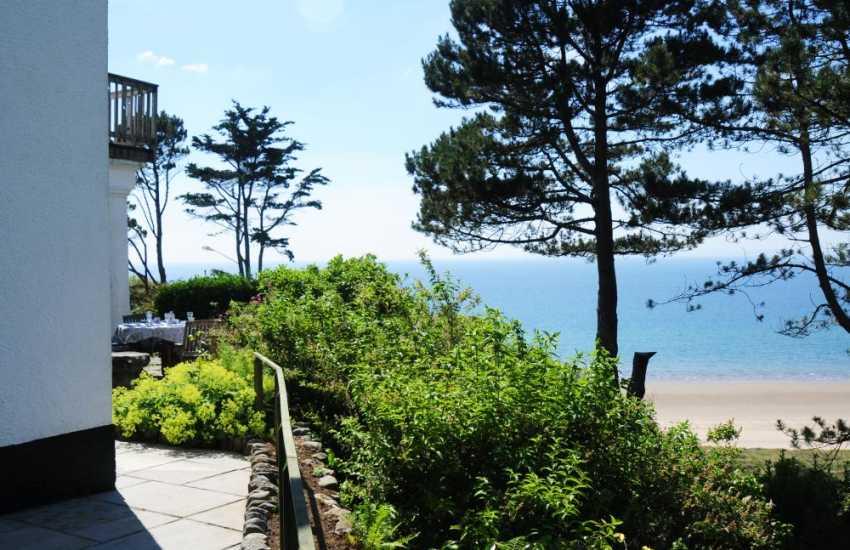 Holiday cottage Harlech sea views