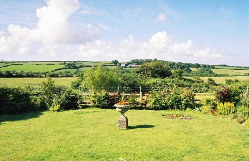 Enjoy views across the Pembrokeshire countryside