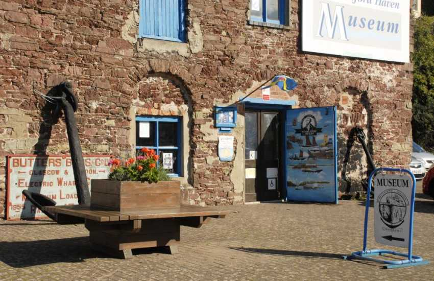 Milford Haven Heritage and Maritime Museum beside Milford Marina brings the town's colourful past to life and is well worth a visit